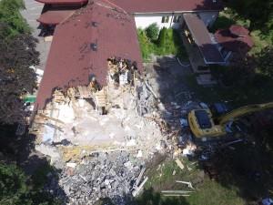 Drone View - Demoltion