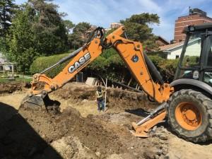 Home excavation